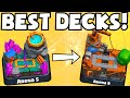 Clash Royale BEST ARENA 5 ARENA 6 DECK STRATEGY NO LEGENDARY CARDS FREE TO PLAY/UNBEATABLE GAMEPLAY