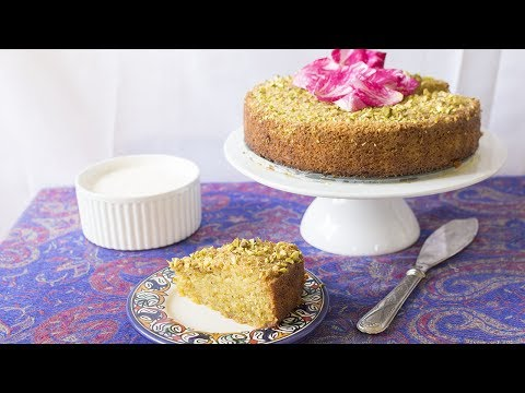 How to Make Rosewater Pistachio Cake