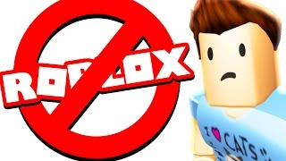 I CANT PLAY ROBLOX ANYMORE :(