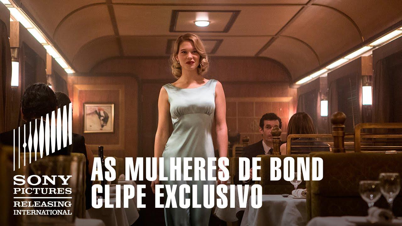 As Mulheres De Bond 007 Contra Spectre Clipe Exclusivo Youtube