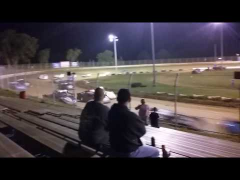 Super Late model feature start at Florence speedway