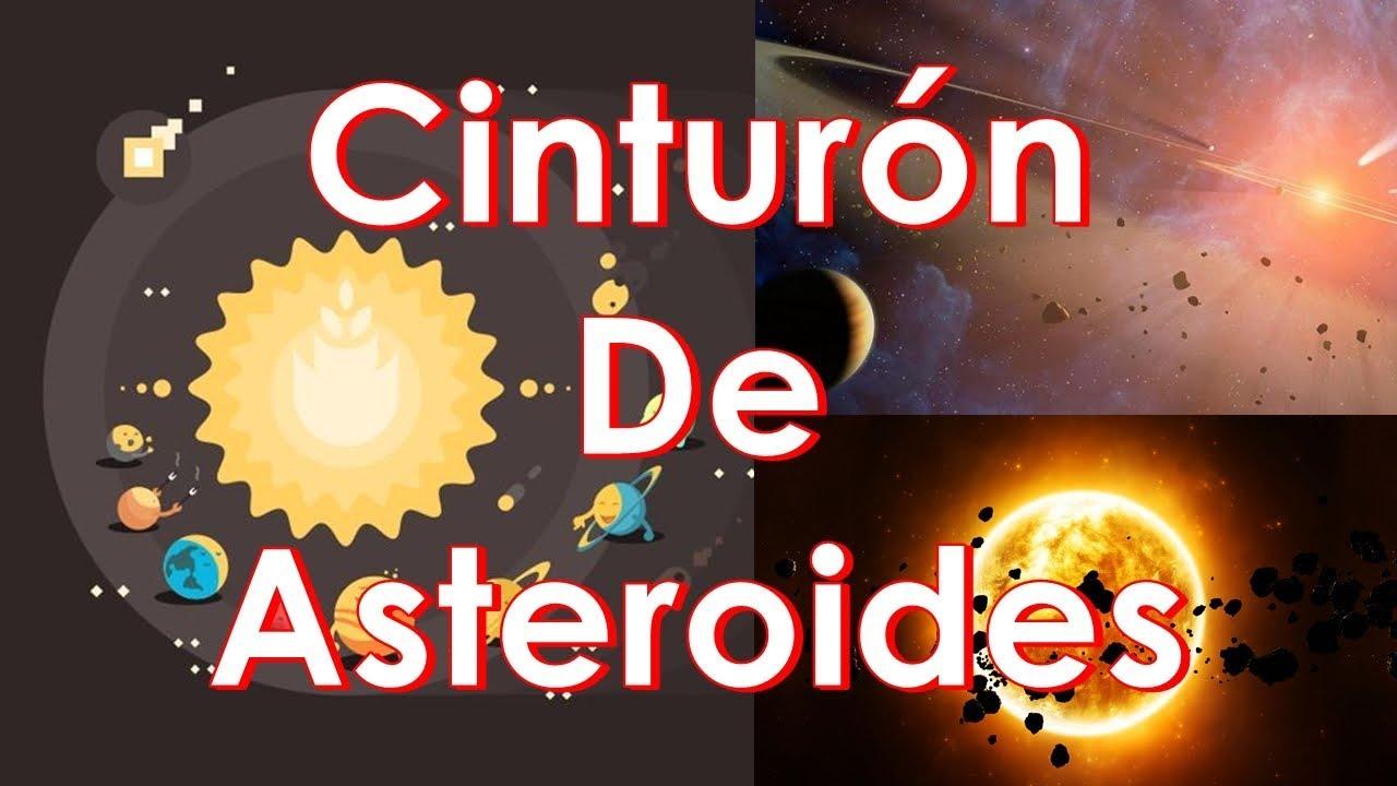 Qué Es El Cinturón De Asteroides Dónde Se Encuentra Youtube