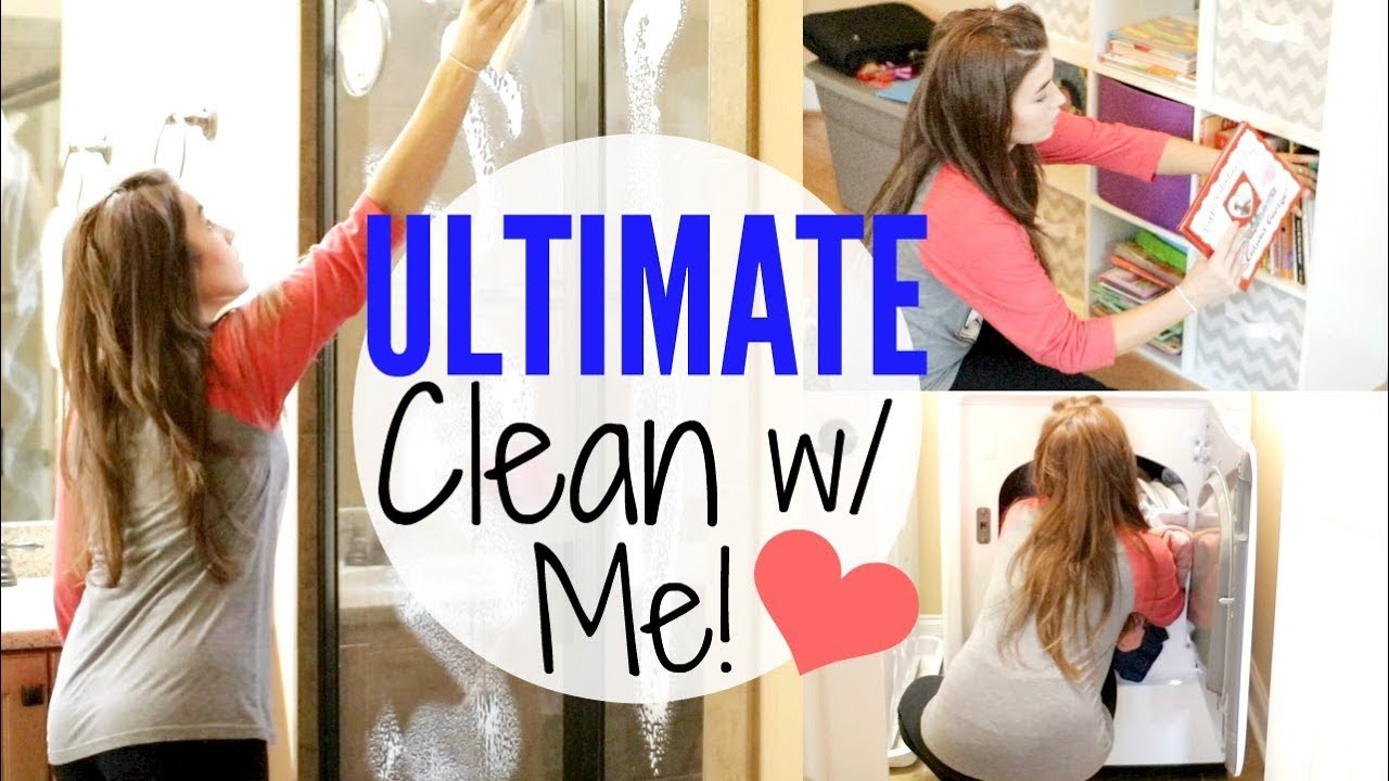 Ultimate Clean With Me Major Cleaning Motivation W Cleaning Music Youtube