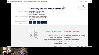 "Explaining ""Territory"" clause in your Oracle Licensing Agreement"