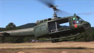 25th UH 1H Takeoffs and Landings