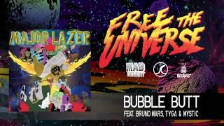 Video Major Lazer - Bubble Butt (feat. Bruno Mars, Tyga & Mystic) (Official Audio) download MP3, 3GP, MP4, WEBM, AVI, FLV September 2018