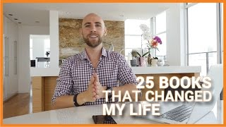 25 BOOKS THAT CHANGED MY LIFE | Motivation & Inspiration