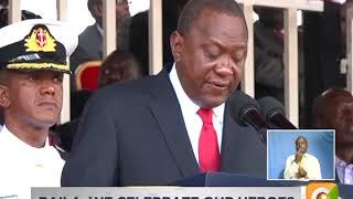 President Uhuru Kenyatta's speech on Mashujaa Day