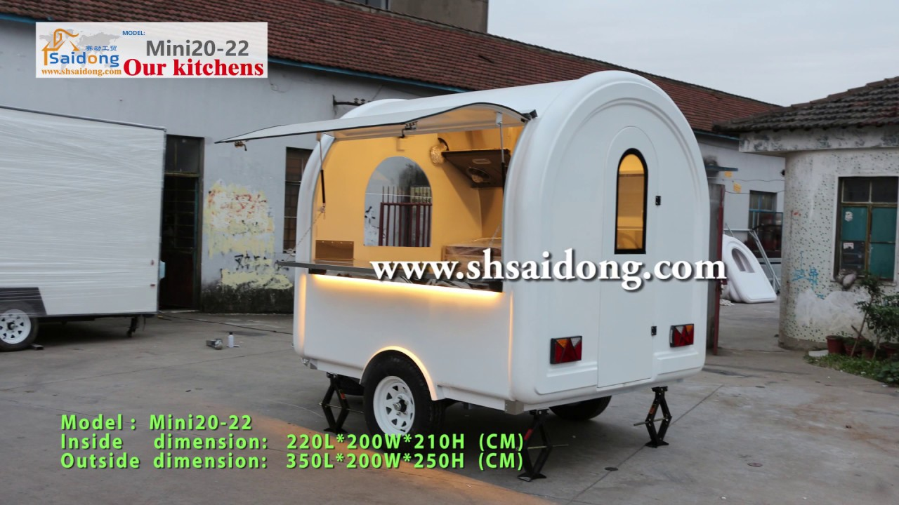 Buying Your First Coffee Carts MINI20 22 Trailer Food