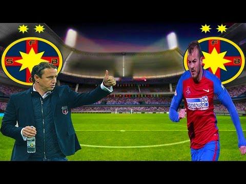 PES 2017 Romania Cariera cu Steaua - Alibec Declarat Omul Etapei