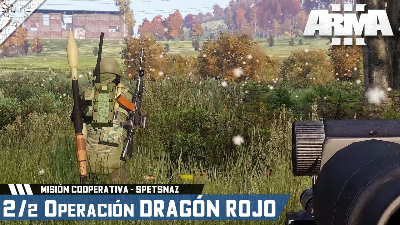 MISIÓN SPETSNAZ COOPERATIVA | 2/2 OPERACIÓN DRAGON ROJO | ArmA 3 Gameplay Español (1440p HD) #ArmA3