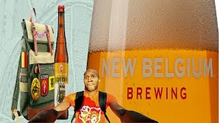 "New Belgium Brewing - ""Side Trip"" Pale Ale (Seasonal) Review #duH"