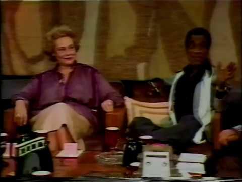 Geraldine Fitzgerald, Sammy Davis Jr., Irene Worth, Irwin Allen, Kup's