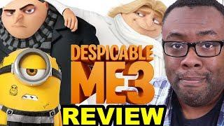 DESPICABLE ME 3 MOVIE REVIEW – Gru, Dru & Minions [Black Nerd]