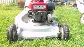 Honda HR21 SXM mower