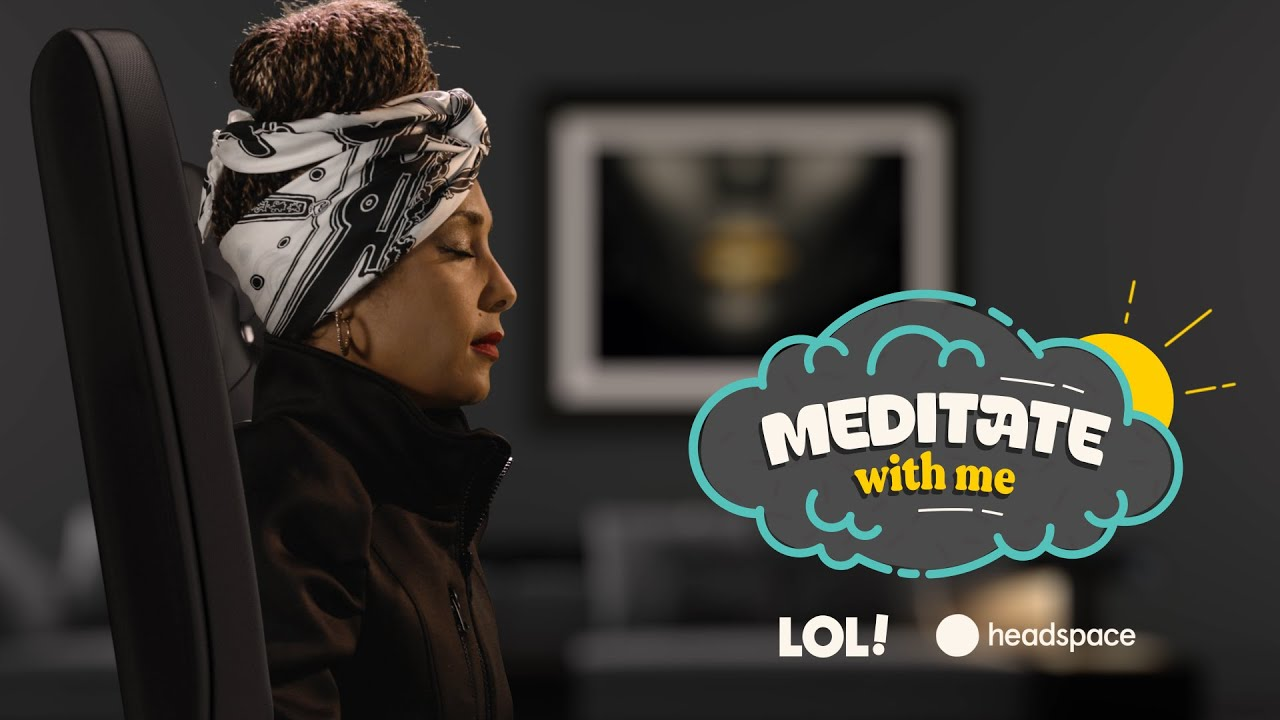 Meditate With Amanda Seales | Meditate With Me | Laugh Out Loud Network