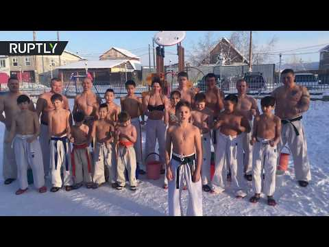 Temperature is just a number: Yakutsk kids send message to DiCaprio
