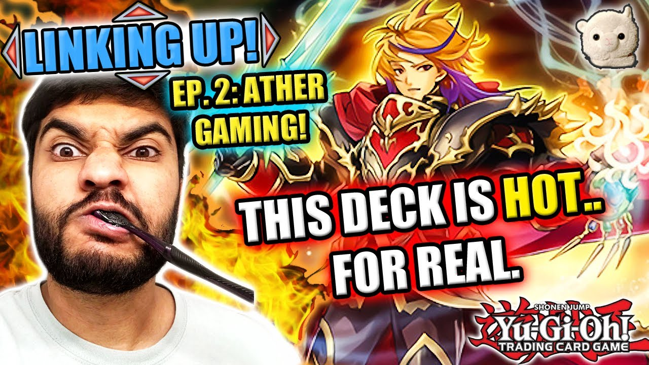 Yu-Gi-Oh! LINKING UP! THIS DECK IS HOT..AND NOBLE--INFERNOBLE KNIGHTS!! EPISODE 2: ATHER GAMING