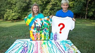 3 Color Tie Dye Challenge with our Share The Love Shirts!!! The Sha...