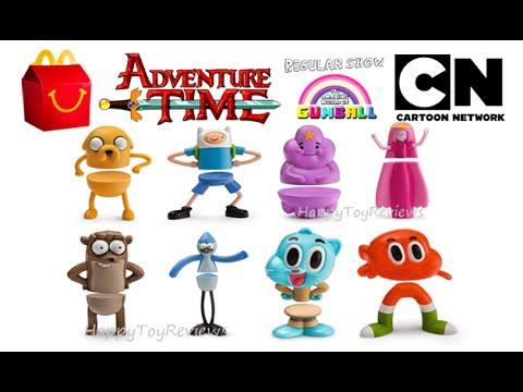 2016 mcdonalds adventure time cartoon network set 8 happy