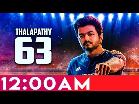 12 AM surprise for VIJAY FANS | Thalapathy 63 Latest Update | Atlee