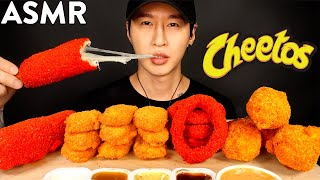 MOST POPULAR FOOD FOR ASMR with CHEETOS (KFC, ONION RINGS, MOZZARELLA CORN DOG, CHICKEN NUGGETS)