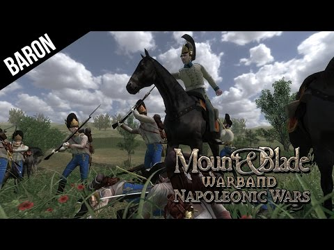 Mount and Blade Warband Napoleonic Wars - Vive La France!  Siege Event!
