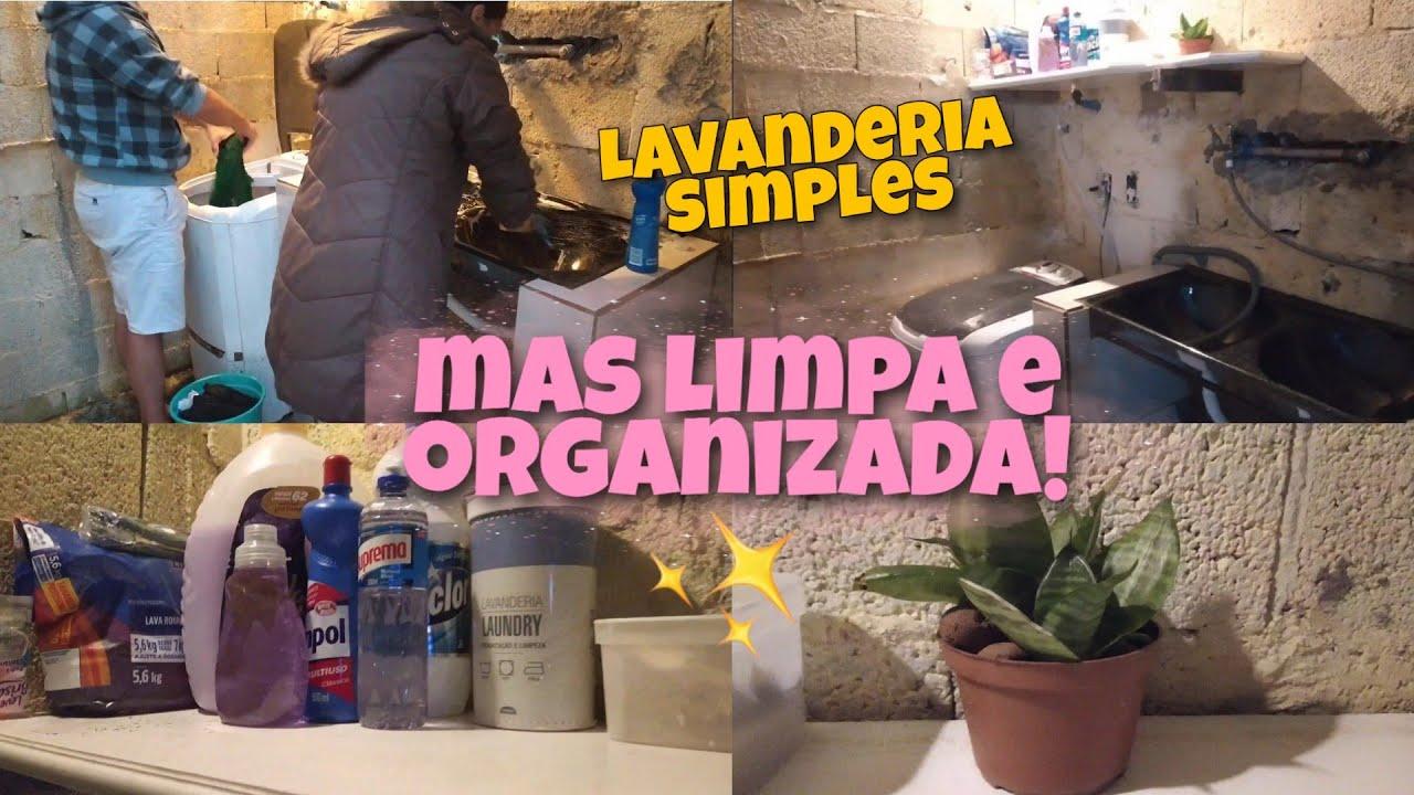 FIZEMOS UMA FAXINA NA LAVANDERIA- ESTAVA MUITO SUJA 😰 Ficou limpa e organizada ✨✨