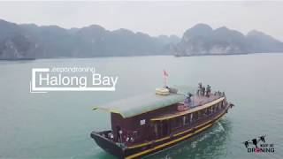 Halong Bay drone footage #keepondroning