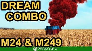 THE DREAM! M24 & M249 / PUBG Xbox One X