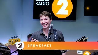 James Blunt   Dancing In The Dark (bruce Springsteen Cover) Radio 2 Breakfast