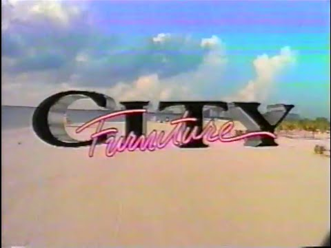 City Furniture South Florida 1995 TV commercial YouTube