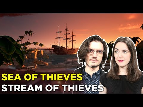 SEA OF THIEVES — Sloopin' it up with Pat and Simone