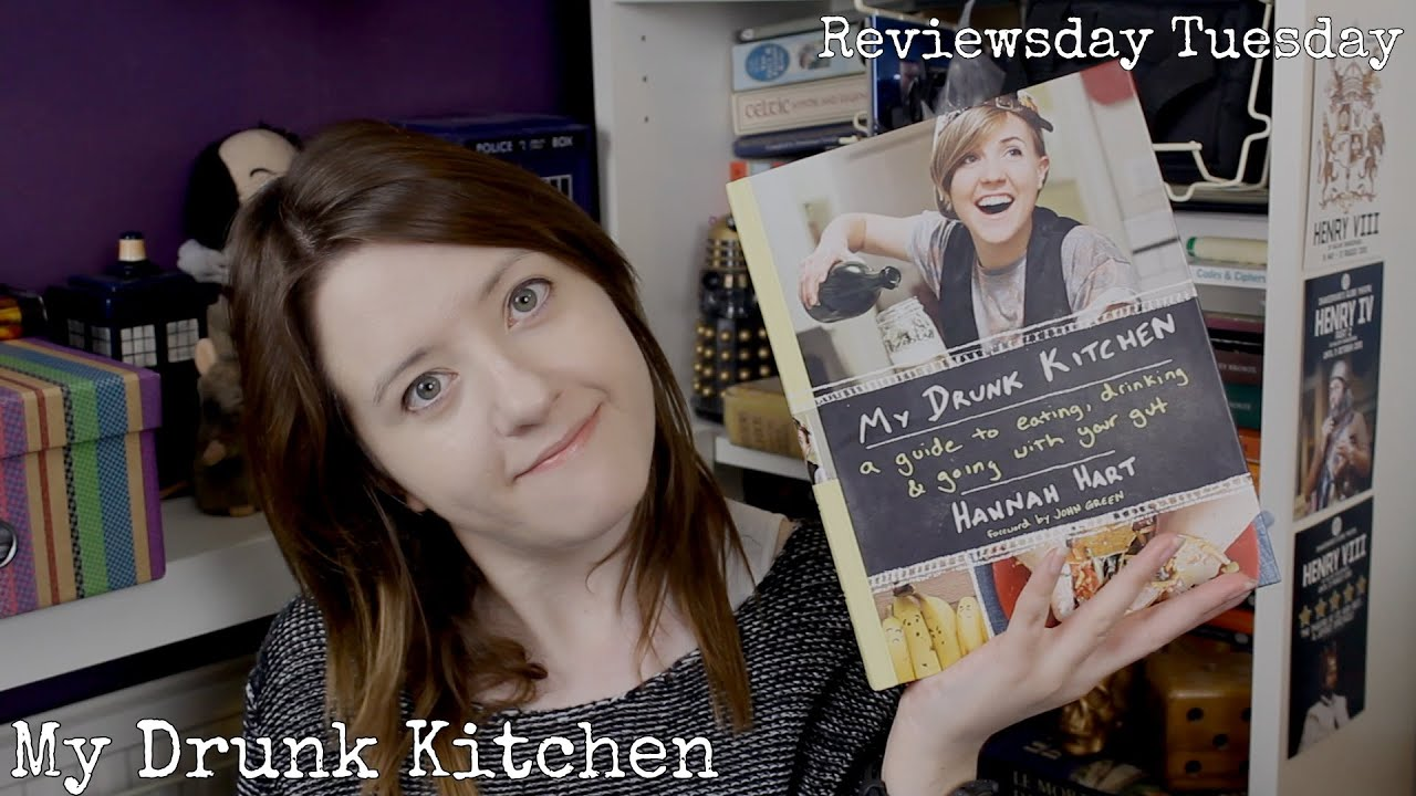 my drunk kitchen (book review) (also, an announcement.) - youtube
