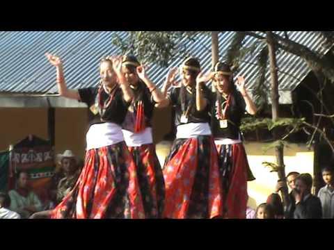 Tungna ra damphu bajaudai -- dance performance on lapso 2010 ktm