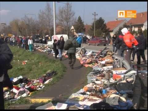 TV Pančevo - Stari buvljak - nedeljno šetalište
