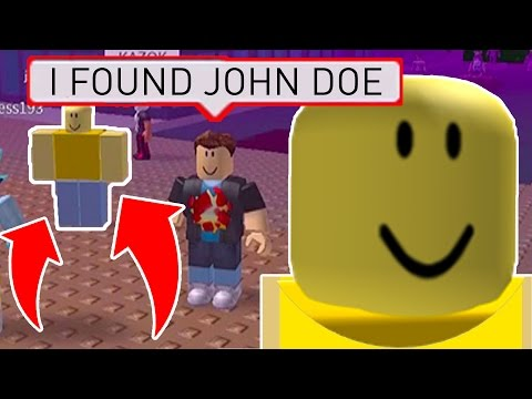 FINDING JOHN DOE on MARCH 18TH in Roblox - ALL JOHN DOE LOCATIONS