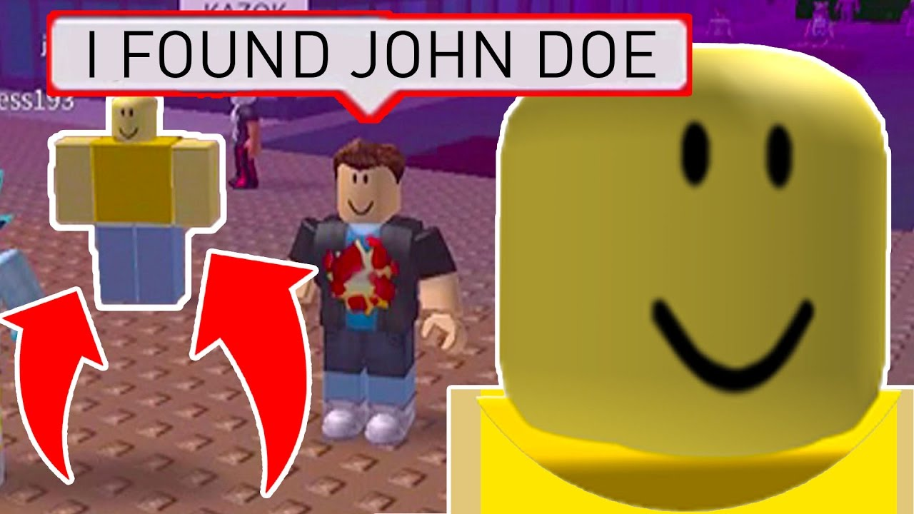 finding john doe on march 18th in roblox