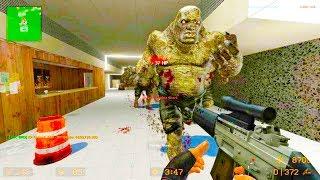 Counter Strike Source - Zombie Horde Mod Online Gameplay on de_metro map