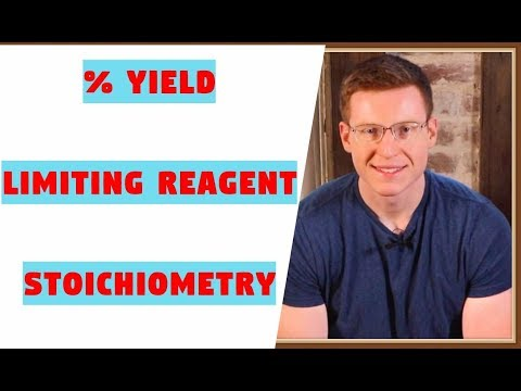 Limiting Reagent, % Yield, Excess Reagent, Stoichiometry