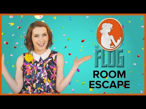 Felicia Day's The Flog!: ROOM  ESCAPE w/ Zachary Levi, Seth Green, & Clare Grant