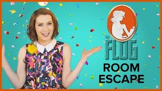 Felicia Day's The Flog!: ROOM  ESCAPE w/ Zachary Levi, Seth Green, & Clare Grant