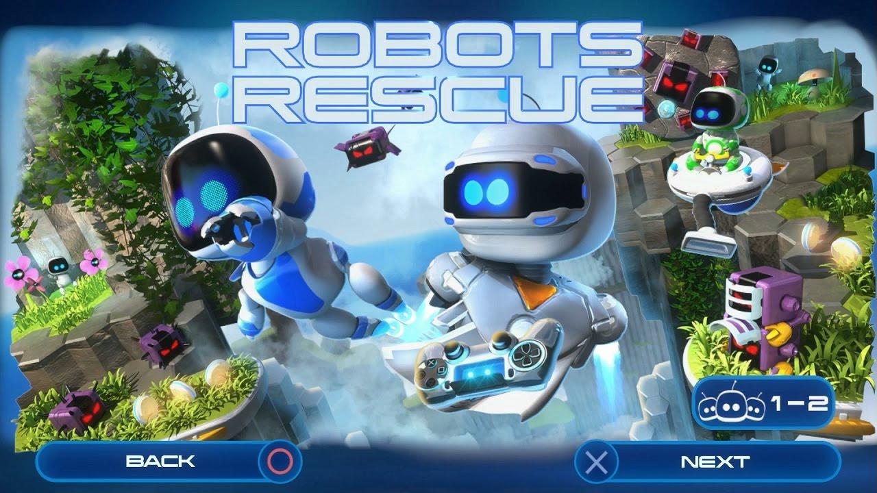 Resultado de imagen para playroom robot rescue