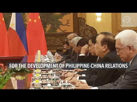 WATCH: Duterte's message to Chinese President Xi Jinping during bilateral talks