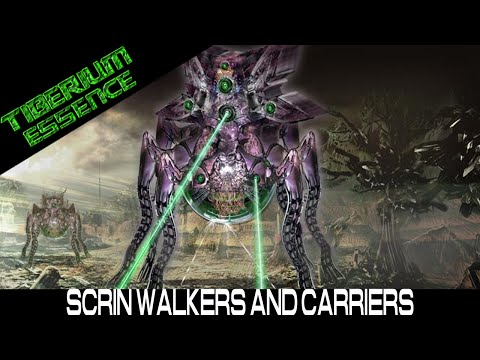 Tiberium Essence - 2V3 Scrin Walkers and Carriers