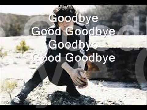 ~ One Ok Rock ~ lyrics Good GoodBye