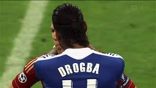 "When Drogba ""DESTROYING"" Bayern Munchen - UCL 2012 FINAL 