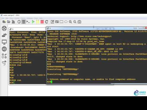 Troubleshoot GNS3 - GNS3