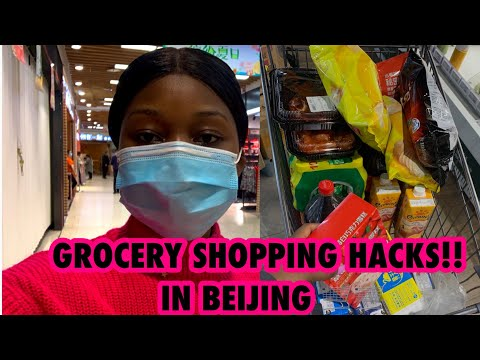 GROCERY SHOPPING HACKS! IN BEIJING come grocery shopping with me