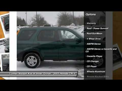 2003 honda cr v inver grove heights st paul minneapolis 42154a youtube. Black Bedroom Furniture Sets. Home Design Ideas